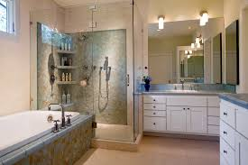 Glass Bathroom Storage Ceramic Tile Shower Shelves Bathroom Contemporary With Bathroom