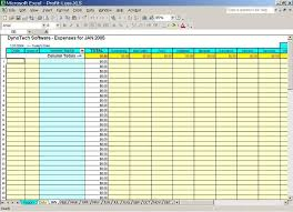 Monthly Bill Spreadsheet Template Monthly Business Expenses Template