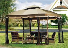 Gazebo For Patio Outdoor Canopy Gazebo Design Dans Design Magz