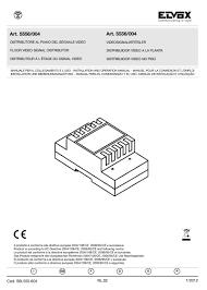 elvox installation instructions