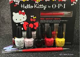 kitty by opi nail lacquer mini collection 5 pcs