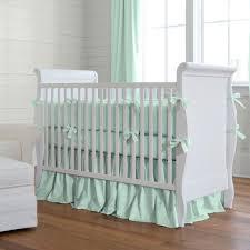 Crib Bedding Green Green Crib Bedding Nursery Bedding In Green Carousel Designs