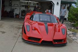 ferrari replica this totally insane ferrari tricked out with jet engines can do