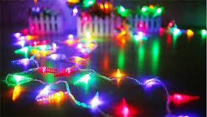 220v 33ft 10m led lights shinning pepper lights