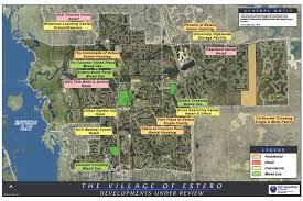 Map Of Estero Florida by Estero Council Of Community Leaders