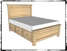 free plans to build a cal king platform storage bed feelin