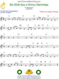 merry christmas french horn free sheet music