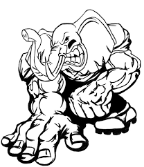 Alabama Football Coloring Pages 23906 Bestofcoloring
