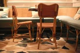 Cafe Style Dining Chairs Maison Drucker Parnasse Paris Cafe Style Dining Chairs Pink Red