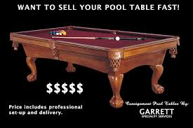 Used Pool Table by Used Pool Table Fort Wayne Consign Pool Table Sell Your Pool Table