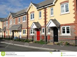 100 row homes abstract row homes selected home done stock