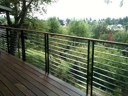 Railings And Banisters Best 25 Cable Deck Railing Ideas On Pinterest Deck Railings