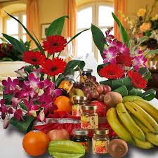 fruit and flower basket fruits basket delivery singapore flowers and fruit baskets for sale