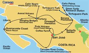 san jose costa rica on map san jose map tourist attractions travelsfinders