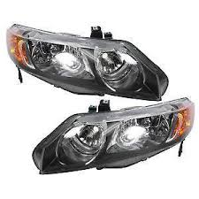 honda civic headlight honda civic si headlights ebay