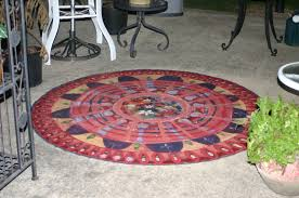 Outdoor Floor Painting Ideas Home Furnitures Sets Painting Concrete Floor Painting Concrete