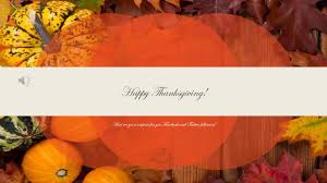 thanksgiving day announcement for next year