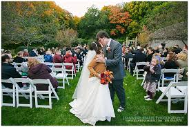 fall wedding at the minnesota landscapre arboretum in the twin
