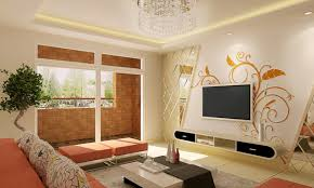 Extraordinary Wall Interior Design Living Room And Home Property
