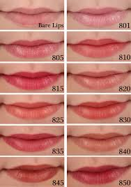 tutorial lipstik revlon makeup tips revlon super lustrous shine lipstick swatches