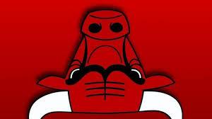 Bulls Flag Turn The Bulls Logo Upside Down Get A Robot Reading A Book