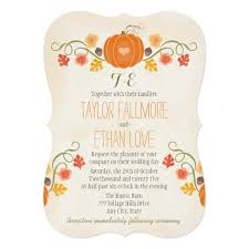 2168 best fall wedding invitations images on autumn