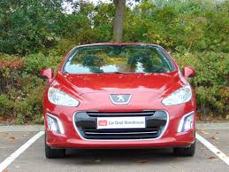 cheap used peugeot cheap used 2014 peugeot 308 cc in red for sale in edinburgh only