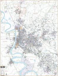 Baton Rouge Zip Code Map Products U2013 Kappa Map Group