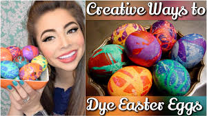 diy the coolest way to dye easter eggs mikayla snow youtube