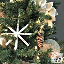 diy rustic dipped pinecone ornaments of diy