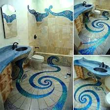 mermaid themed bathroom mermaid bathroom decor decorations a nautical pirate themed medium