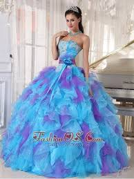 baby blue quinceanera dresses blue and purple quinceanera dress strapless organza appliques