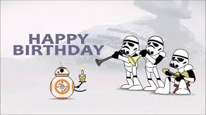 Star Wars Birthday Memes - awesome star wars birthday card youtube