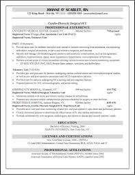 Rn Nursing Resume Examples by Sample Resume For Registered Nurse Resume For Your Job Application