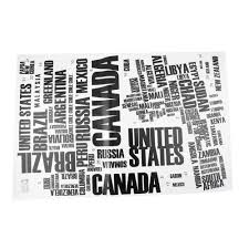 60 90cm large world map letter wall stickers letters map wall art