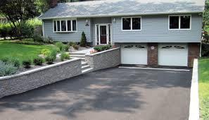 walls archives clc landscape design interlocking block retaining wall along nj driveway
