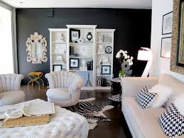 Bedroom Ideas White Walls And Dark Furniture Textural Black Living Artistic Black Living Room Black Living