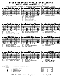 pasco county school is april 2 6 the 2012 2013