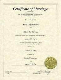 catholic marriage certificate nurturing of personal faith kevin verberk s faith mentorship