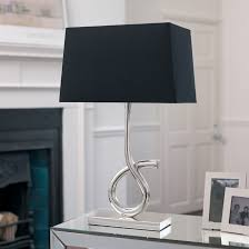 fashionable lamp shades for table lamps silver table lamps living