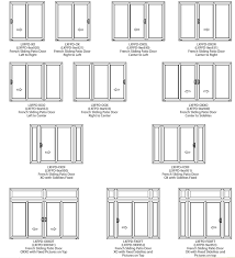 Patio Doors With Venting Sidelites by Patio French Doors Bamboo Blind For Double French Doors Entryway