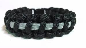black survival bracelet images Thin silver line corrections correctional officer paracord jpg