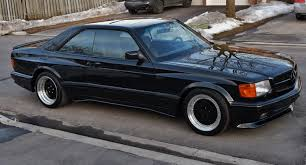 mercedes classic modified 1990 mercedes benz 560sec amg 6 0 widebody is badass but is it