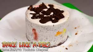 mini brownie oreo ice cream cake with m u0026ms recipe youtube