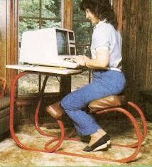 Diy Ergonomic Desk Make A Combination Kneeling Chair And Desk Diy Earth News