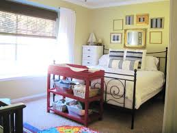 small apartment nursery ideas layout combined master bedroom and