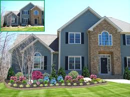 landscape design ranch style home home style