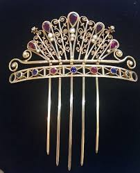 antique hair combs 990 best vintage jewelery images on