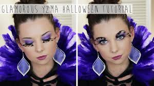 Halloween Glamour Makeup Yzma The Emperors New Groove Halloween Tutorial Diy Feather