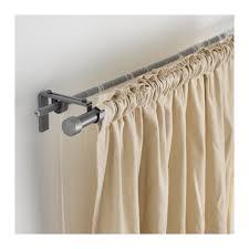 3 Piece Curtain Rod Hugad Curtain Rod Black 47 83